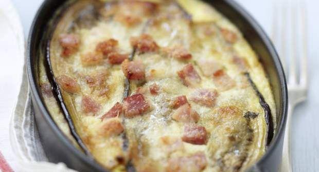 Aubergines au jambon lightVoir la recette des aubergines au jambon light Source by lolo2390 de cuisine minceur