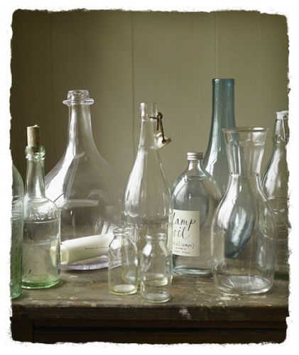 Bottles inspired by the sea