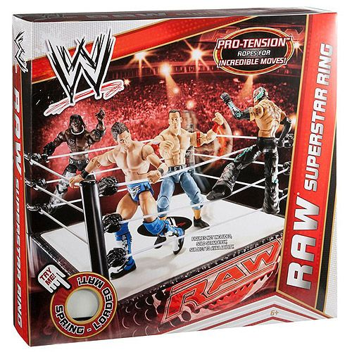 Toys R Us Wwe Rings : Wwe raw superstar ring and rings