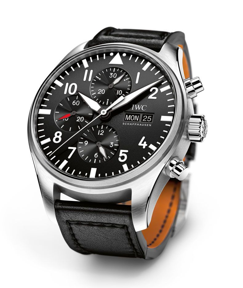 iwc pilot 39 s watch chronograph men watches watches. Black Bedroom Furniture Sets. Home Design Ideas