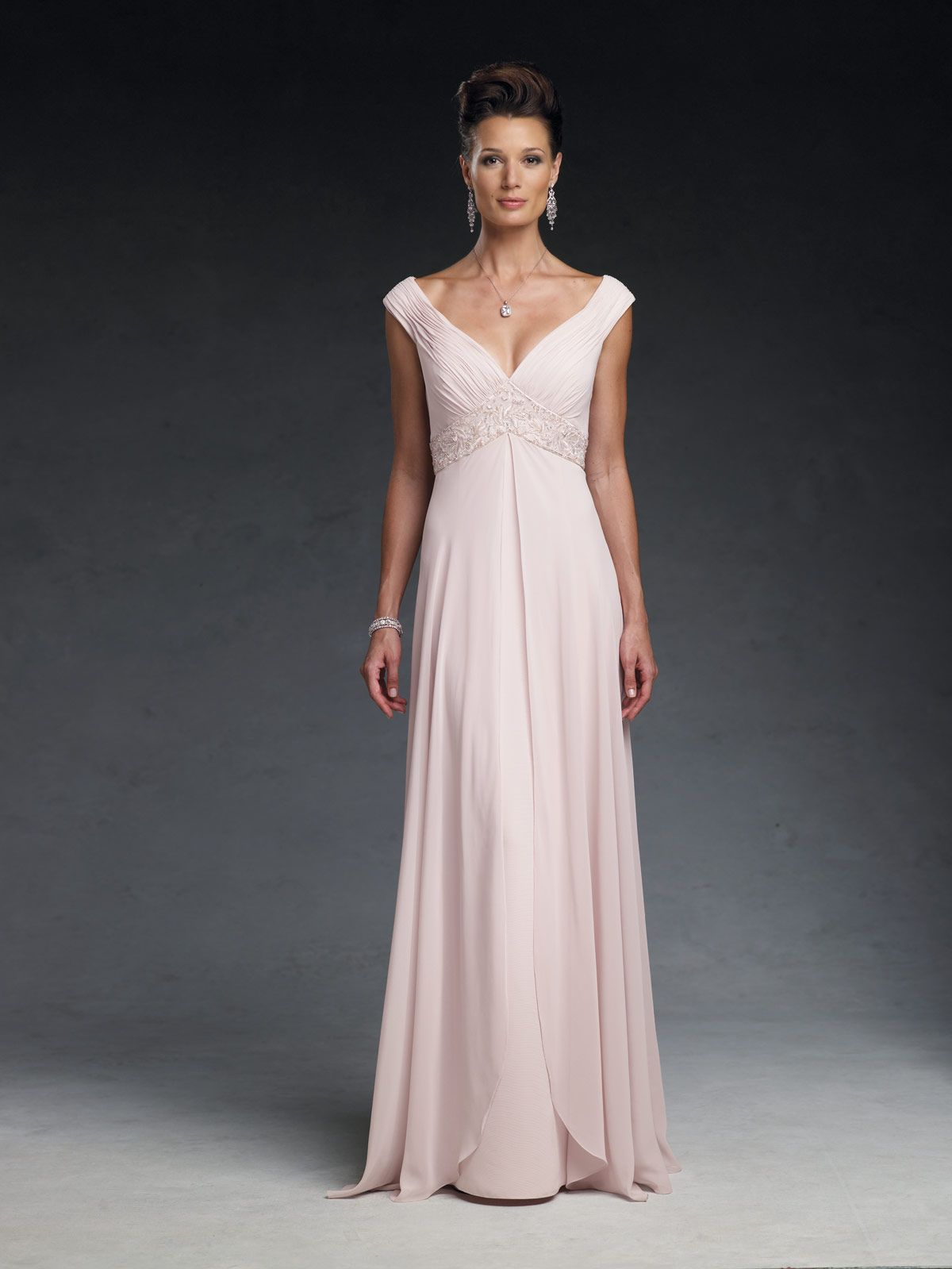 Cameron blake mother of the bride dresses style 19633