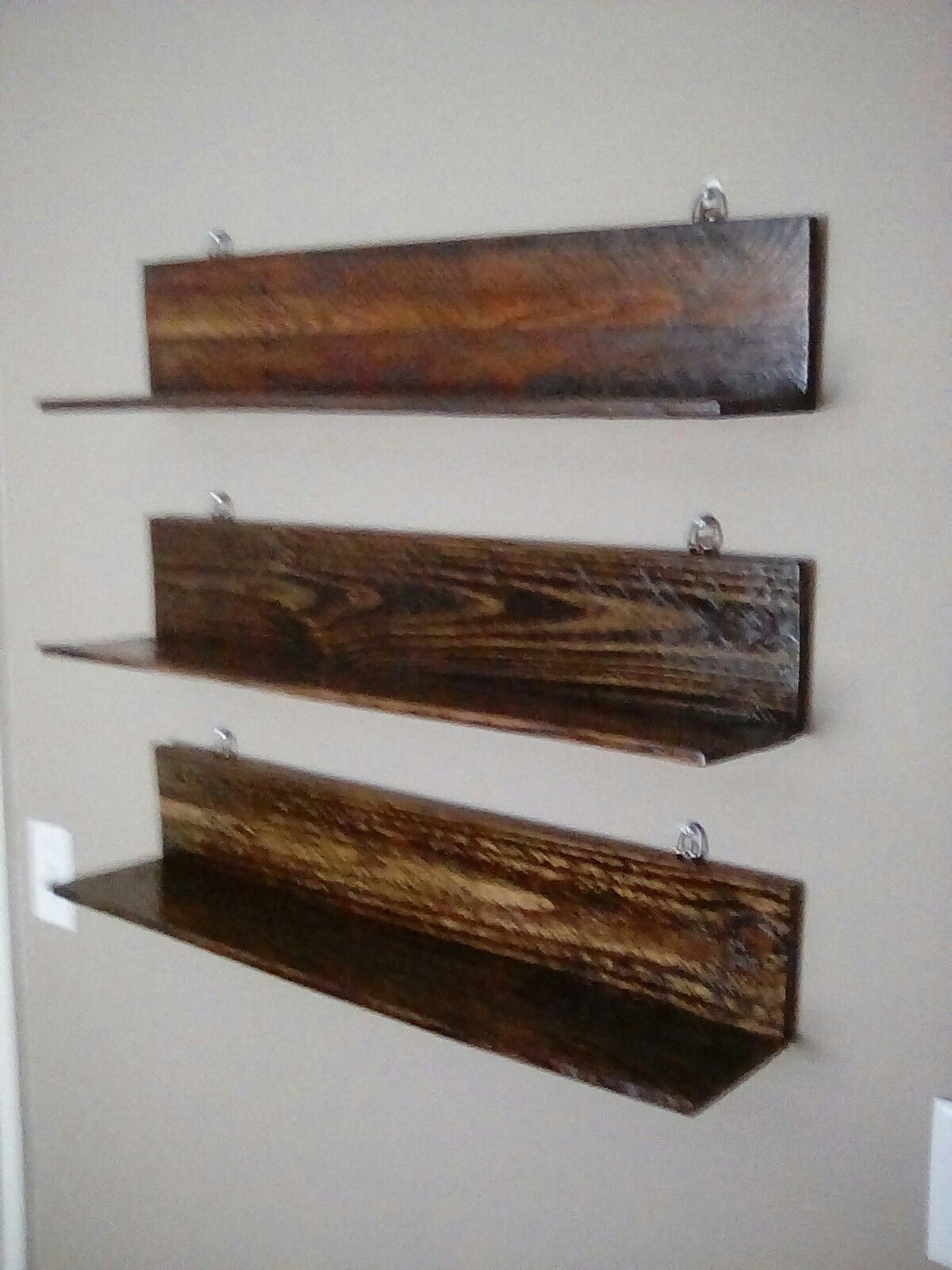Shelves Made From Pallet Wood Diy Project For Pop Vinyl Figures