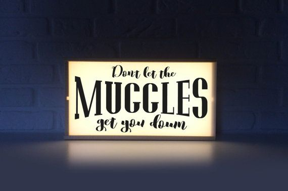 Don T Let The Muggles Get You Down Lightbox With Harry Potter Quote Ligh Box Harry Potter Fan Dumbled Light Box Quotes Harry Potter Light Dumbledore Quotes