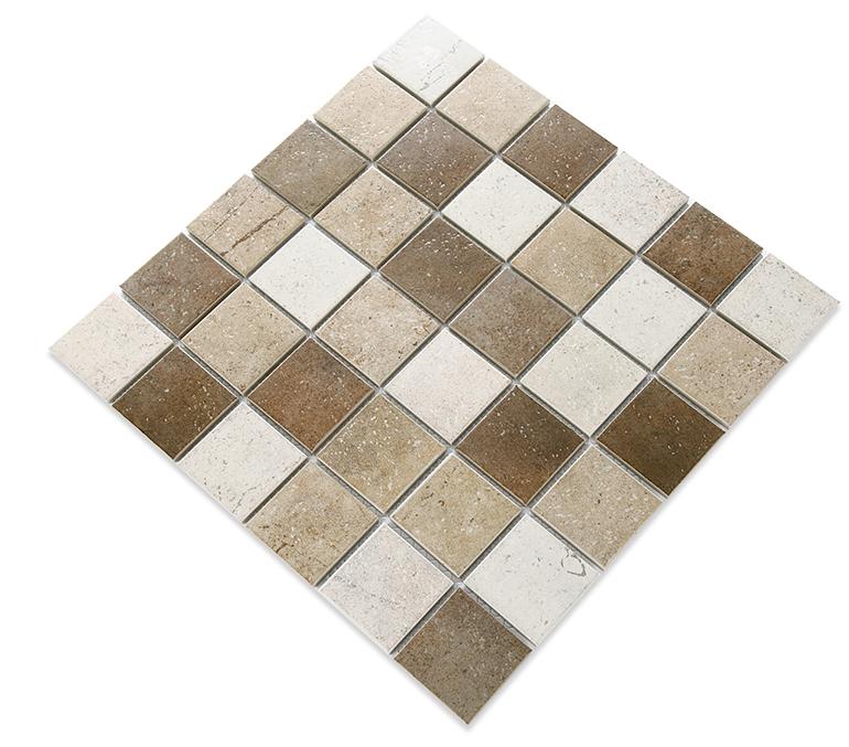 Floor Decor Porcelain Tile Brown Porcelain Mosaic Rustic Wall Tiles For Home Wallfloor Decor