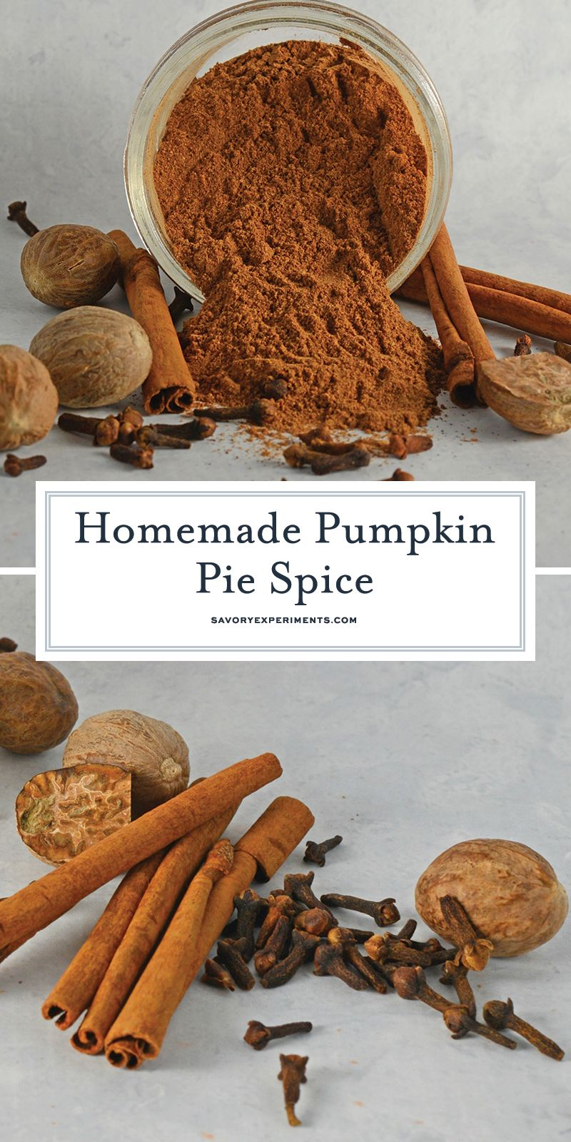 Homemade Pumpkin Pie Spice is a simple recipe made from