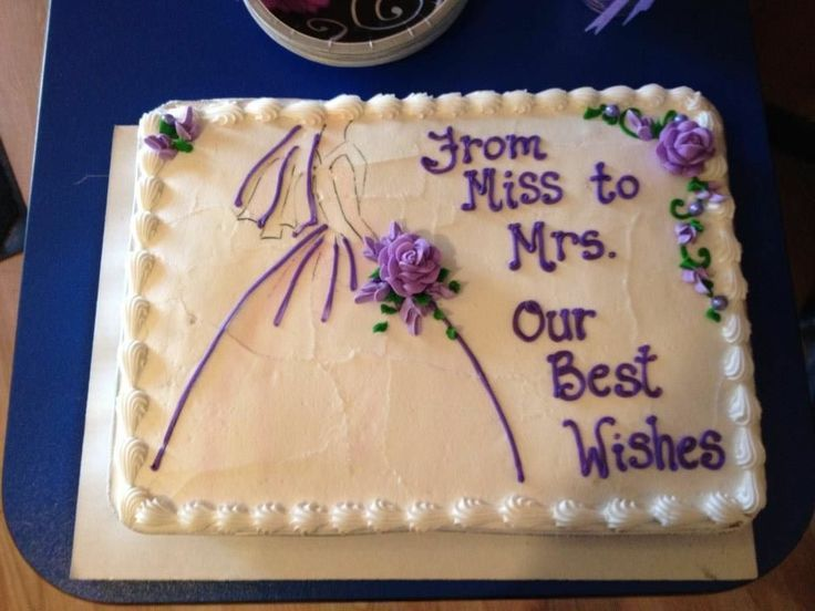 funny wedding cake writing bridal shower cake i like the quot from miss to mrs quot quote 14611