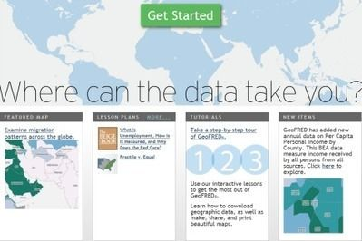 Finding and Using Spatial Data Sources | Geography Education | Scoop.it