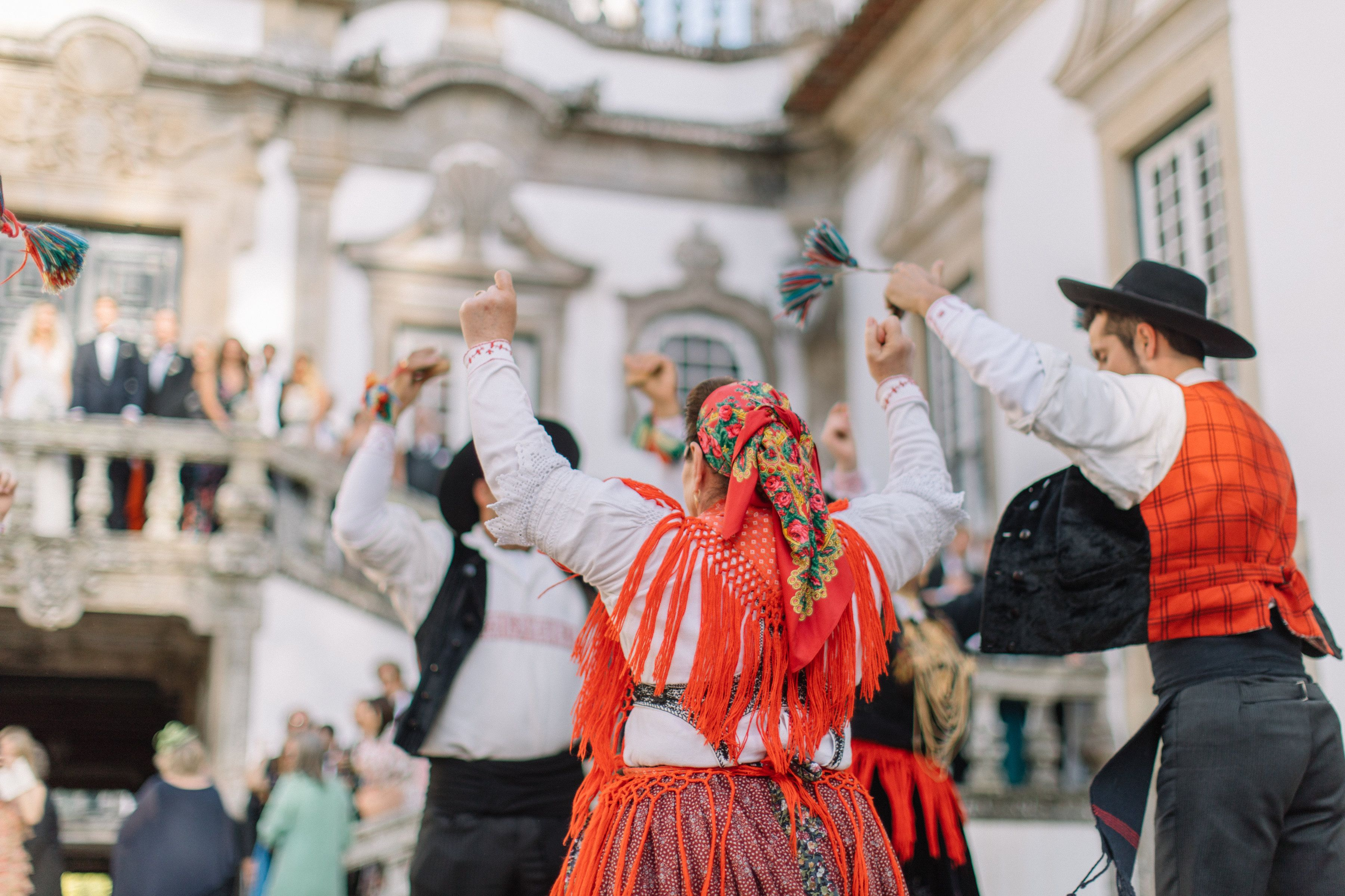 Portuguese Traditional Dances From Minho Region