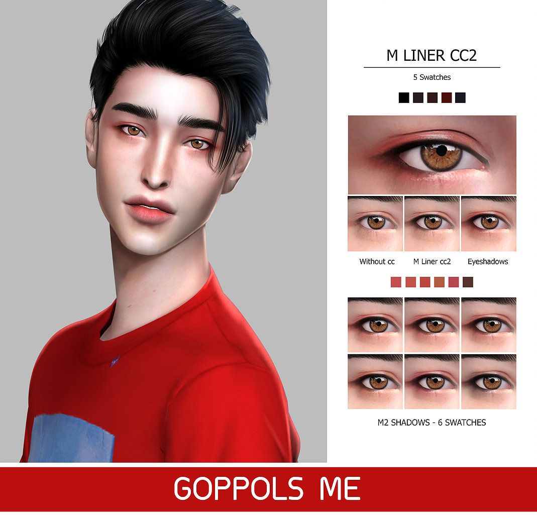 Male Makeup M2 Sims 4 Hair Male Sims Hair Sims 4 Tattoos