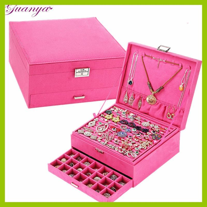 New Year Gift Box For Jewelry Box Large Exquisite Makeup Case