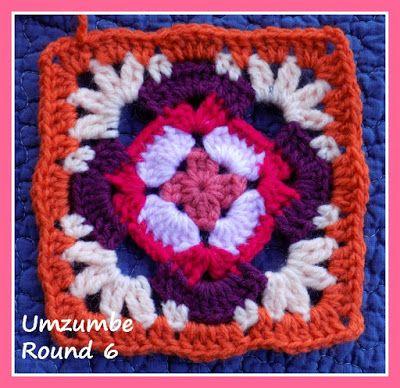Zooty Owl\'s Crafty Blog: Seaside Winter Blanket CAL: Umzumbe Square ...