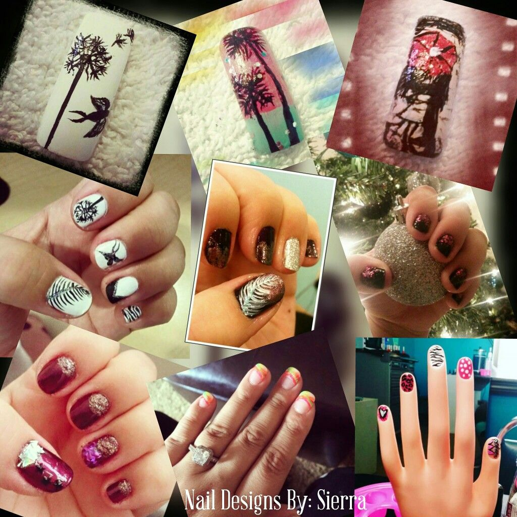 Nail designs by Sierra