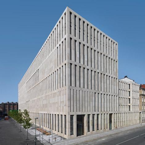 max dudler architekt jacob und wilhelm grimm zentrum berlin a r c h i t e c t u r e. Black Bedroom Furniture Sets. Home Design Ideas