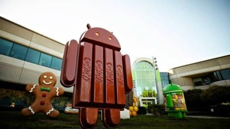 Almost a tenth of Android devices have broken off a piece of KitKat - http://mobilemakers.org/almost-a-tenth-of-android-devices-have-broken-off-a-piece-of-kitkat/