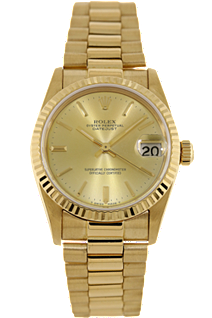 pre owned rolex watches president date just tourneau