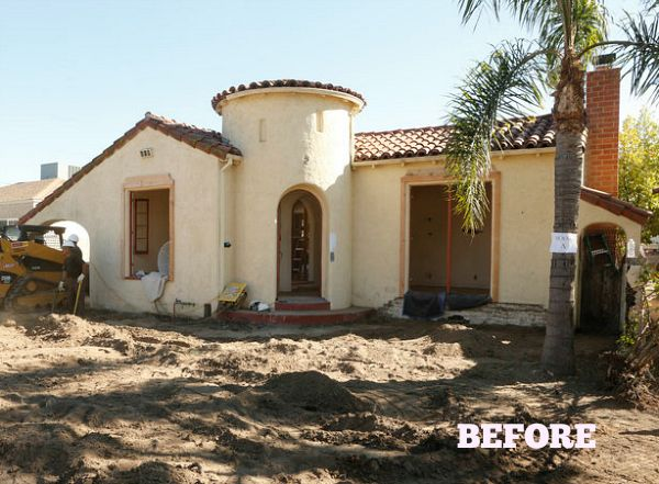 Spanish Bungalow Makeovers On American Dream Builders Spanish