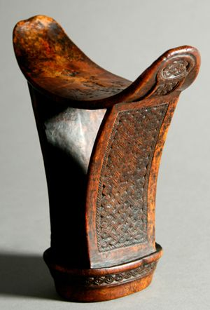 Africa Headrest Barki From The Boni Somali People Of