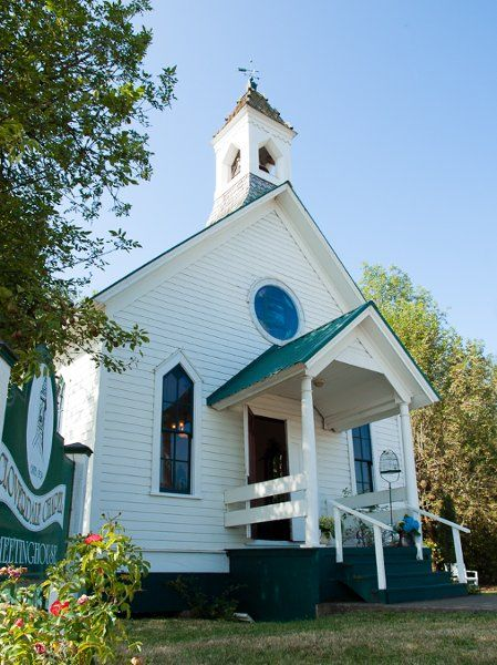 Cloverdale Chapel Meetinghouse Creswell Or Wedding Venue