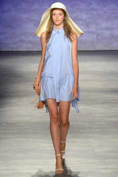 #RebeccaMinkoff #2015 #Fashion #Show #ss2015 #nyfw #NewYork #Fashionweek #Vogue via @Vogue.it