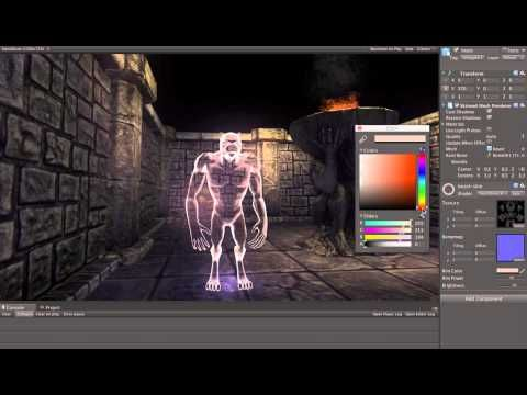 Ghost shader - Unity - YouTube | Technical Art | Unity