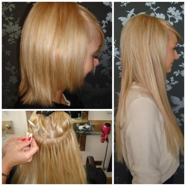 Racoon International Hair Extensions By Sally Greenwood Before And