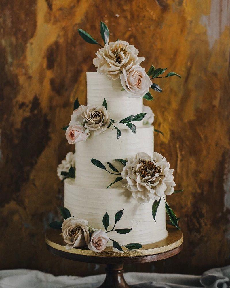 Gorgeous wedding cake inspiration