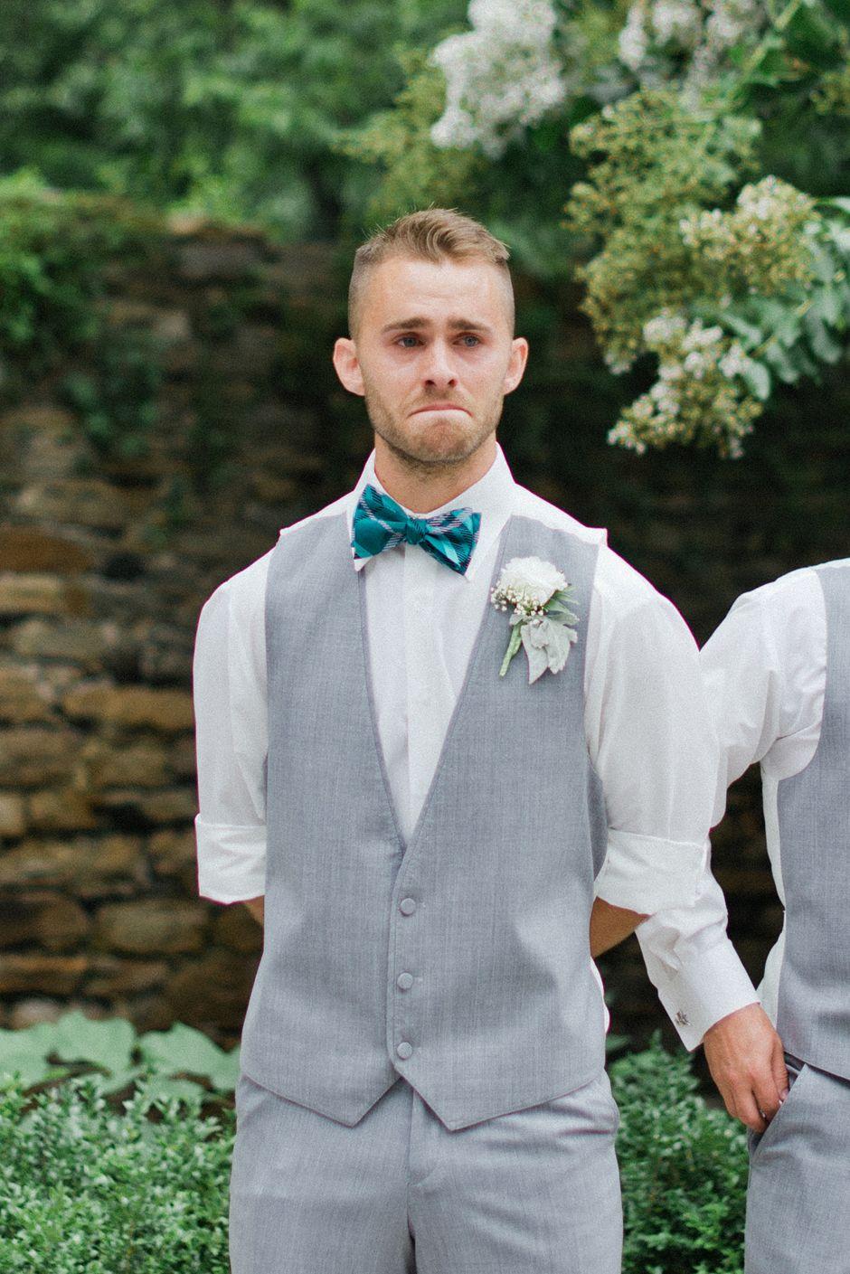 the best groom reaction ever <3 | August 3, 2013 | Pinterest | Groom ...
