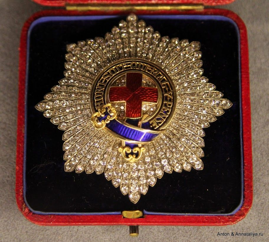 Order Of Garter Star With Diamonds Possibly Presented To King Gustav V Of Sweden By Gavin Campbell 1st M Order Of The Garter Extraordinary Jewelry Chivalry