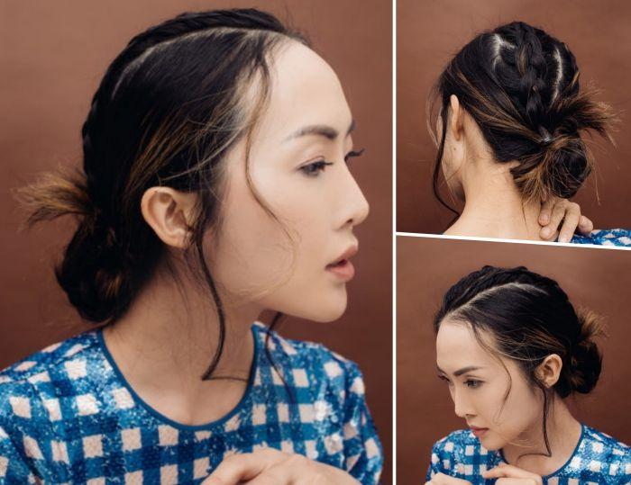 Comment faire une coiffure facile cheveux mi-longs? (avec images)   Coiffure facile, Cheveux mi ...