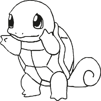 Pokemon Squirtle Coloring Page | Coloring Pages | Pinterest ...