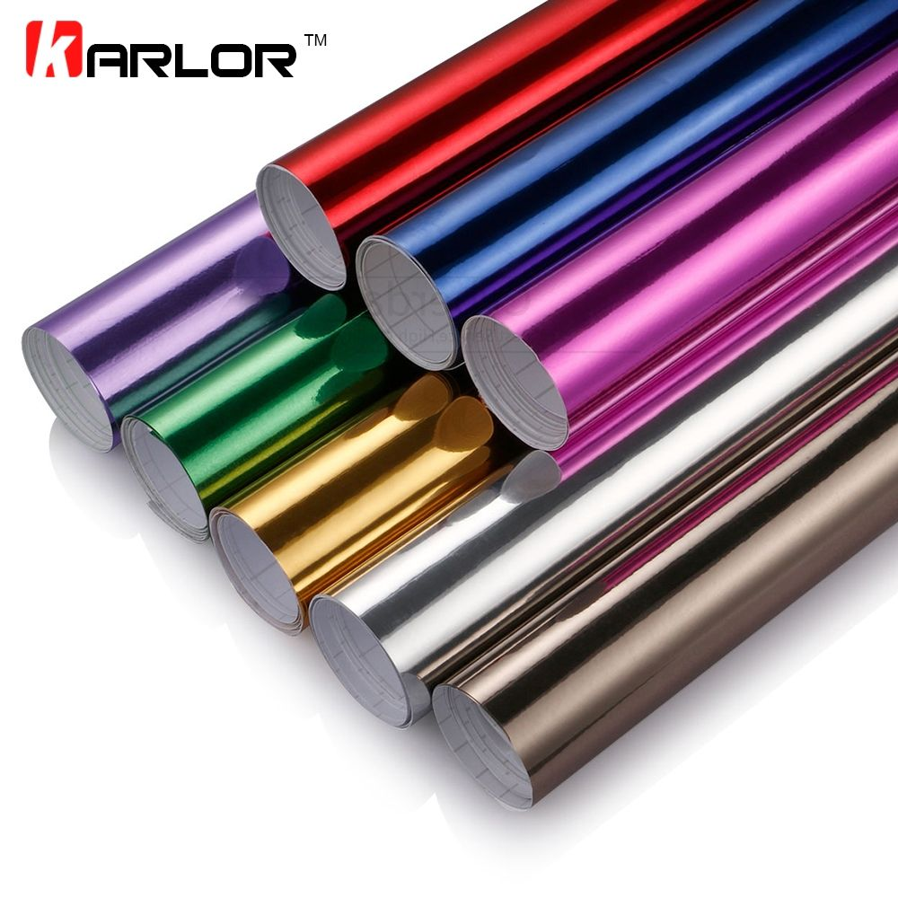 Introducing our lastest 100*30CM Chrome Mirror Vinyl Film Foil Car Sticker DIY Wrapping Sheet Decal