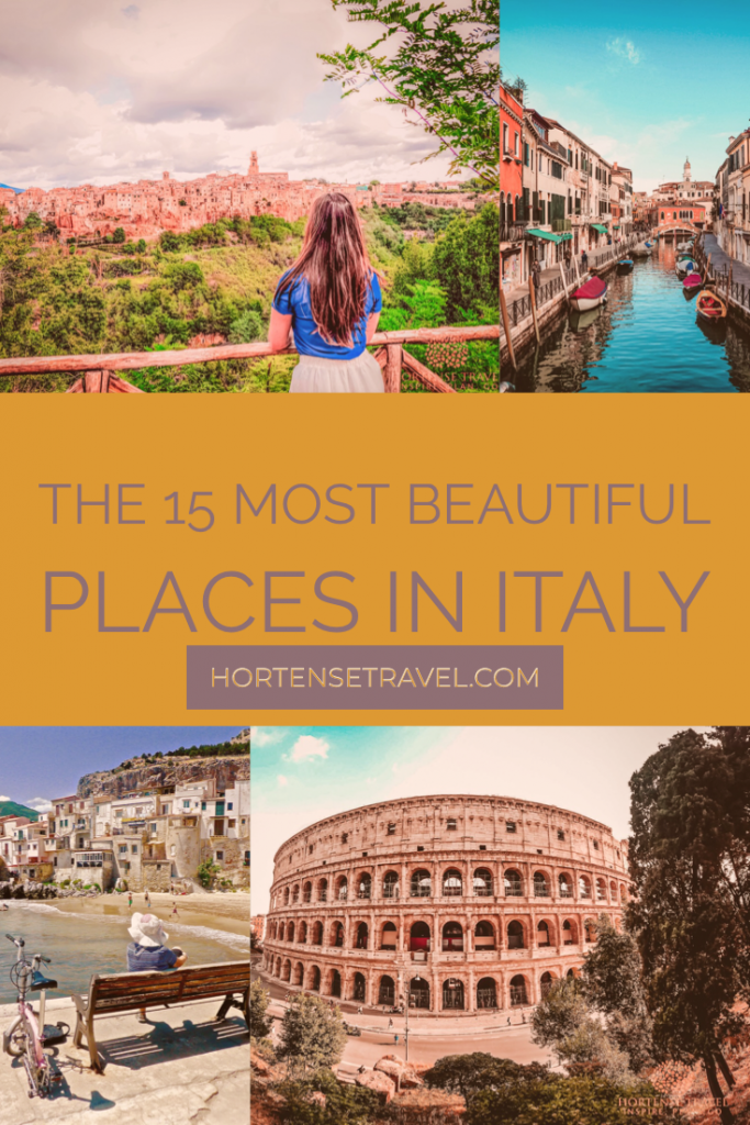 15 Of The Most Beautiful Places In Italy In 2020 Italy Travel