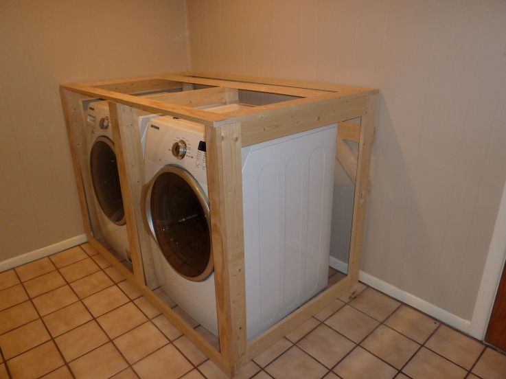 Washer Dryer Built In Laundry Room