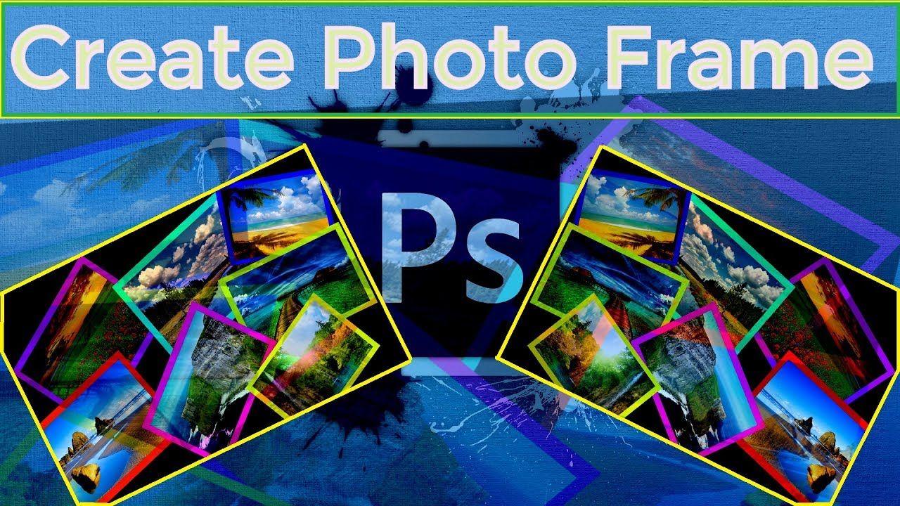 How To Make 3D Photo Frame in Photoshop CC || Create A Photos Frame ...