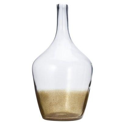 Threshold Demijohn Floor Vase Clear Gold Fleck 2165 Note