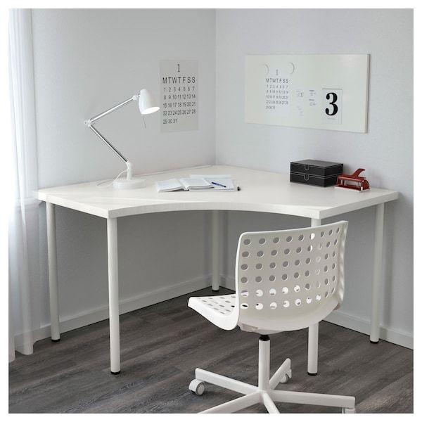 Linnmon Adils Ecktisch Weiss Ikea Deutschland Corner Table Ikea Ikea Corner Desk Home Office Design