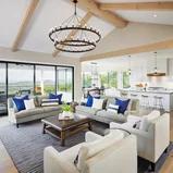 Hidden Hills View Transitional Family Room Austin by Danze & Davis Architects Inc