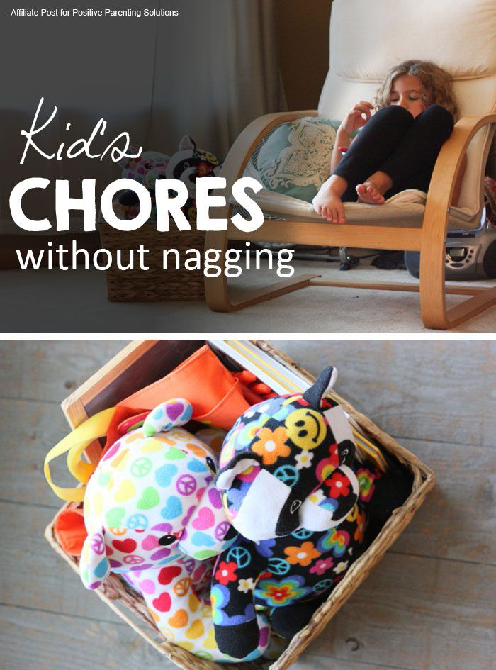 Teaching your kids to do chores without you nagging them.