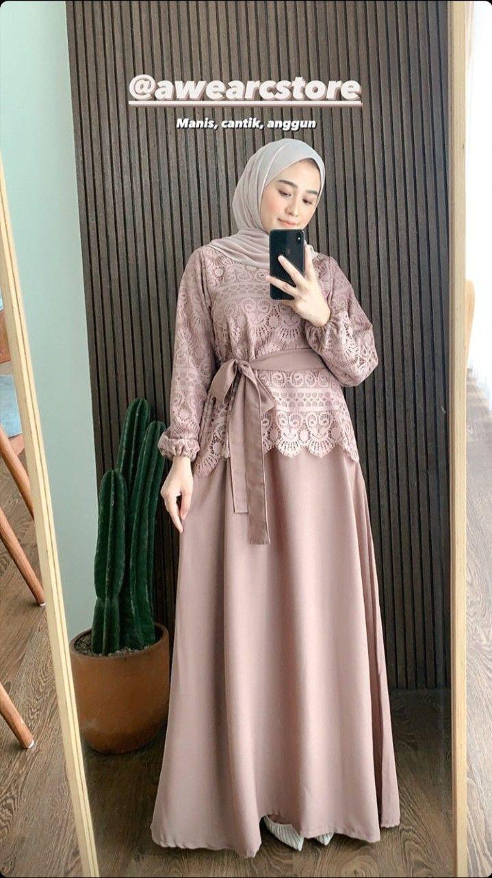 Model Baju Brokat Muslim : model, brokat, muslim, Анастасия, Одинец, Model, Wanita,, Pakaian, Hijab,, Wanita, Bergaya