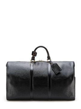 b2ba87afe Black Epi Keepall 50 Cm from Vintage Designer Bags on Gilt   New ...