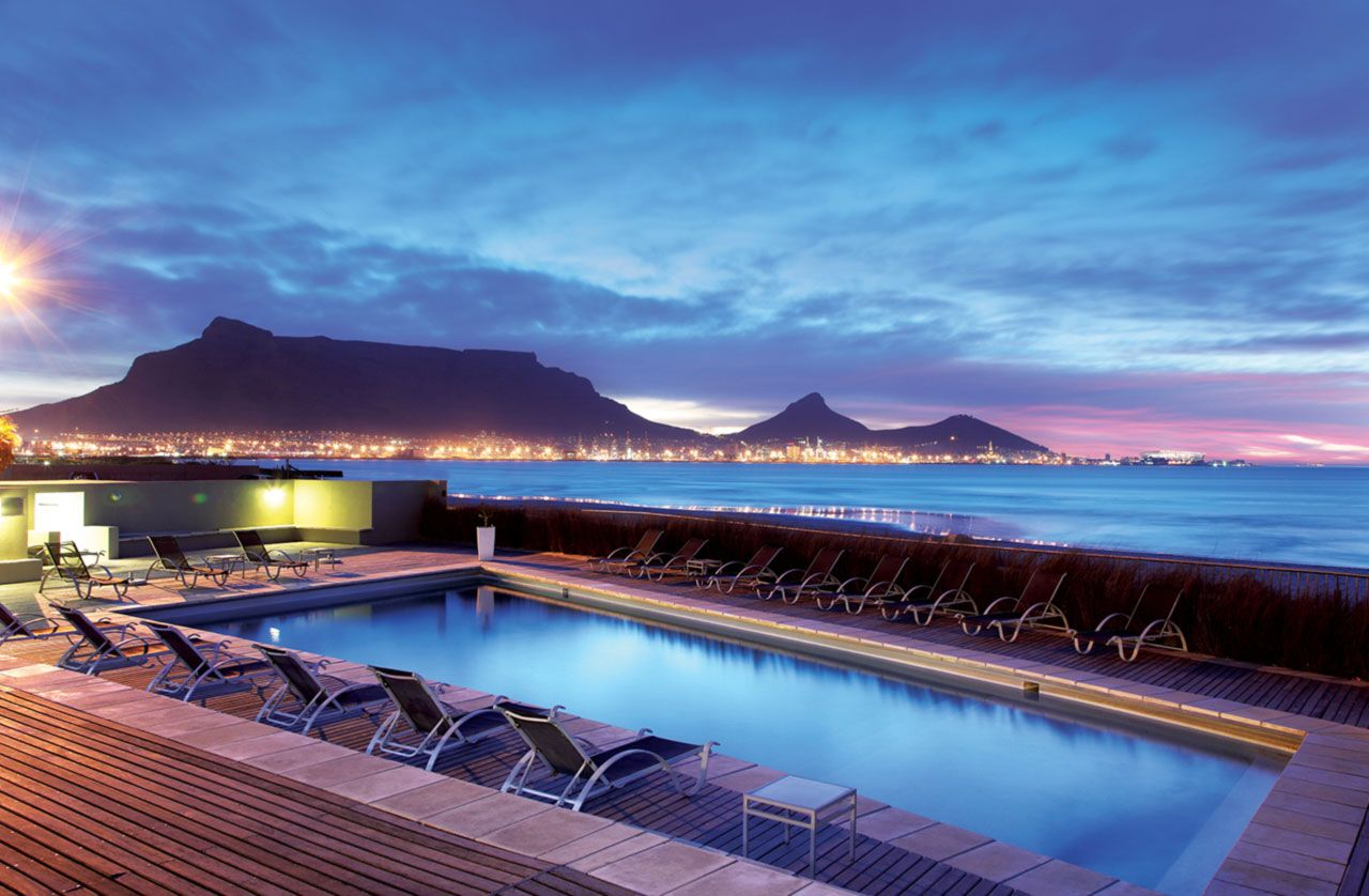 Lagoon Beach Hotel And Spa In Cape Town South Africa