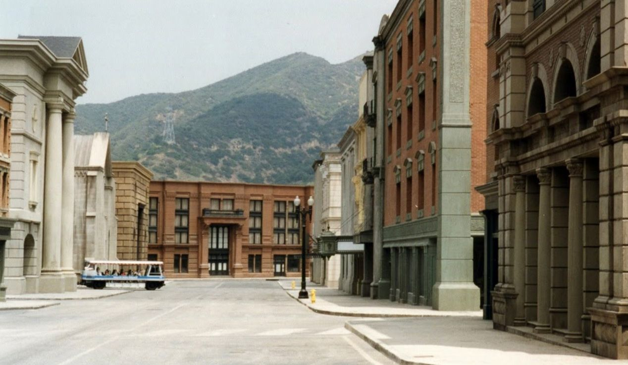 new york streets on universal studios backlot hollywood