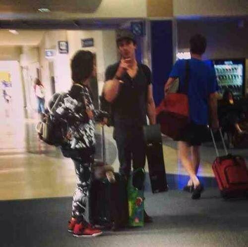 Ian and Kat at ATL airport 14/11/15