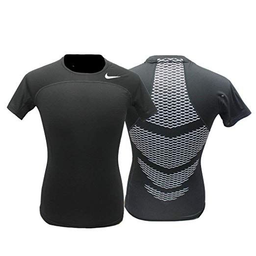 d6e90052abfb7 Nike Men's Pro Combat Hypercool Compression Speed Shirt (Large ...