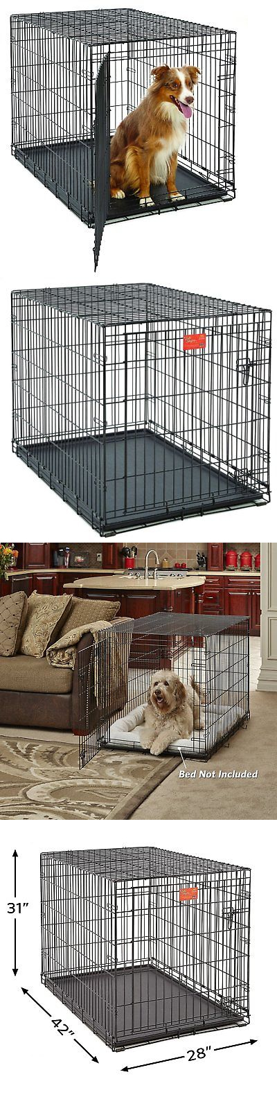 Cages And Crates 121851 Midwest Life Stages 42 Inch Single Door