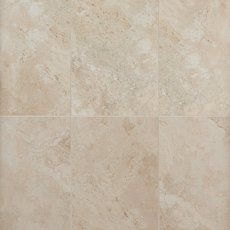Tile And Floor Decor Tarsus Almond Polished Porcelain Tile  Bathroom Remodel
