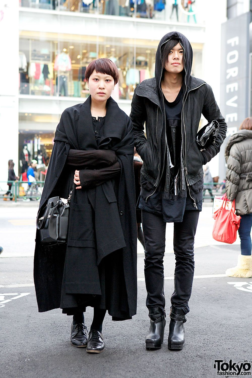 52c3781109a oh look out! double blackout chock full of Rick Owens and CdG. Harajuku ...awesome.