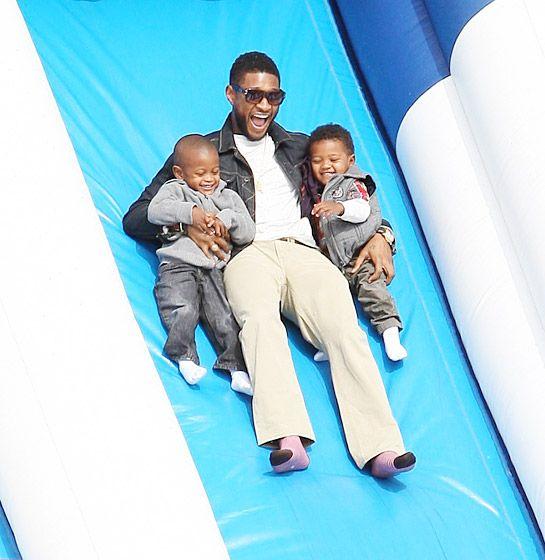 Usher Raymond hijo tiene diabetes