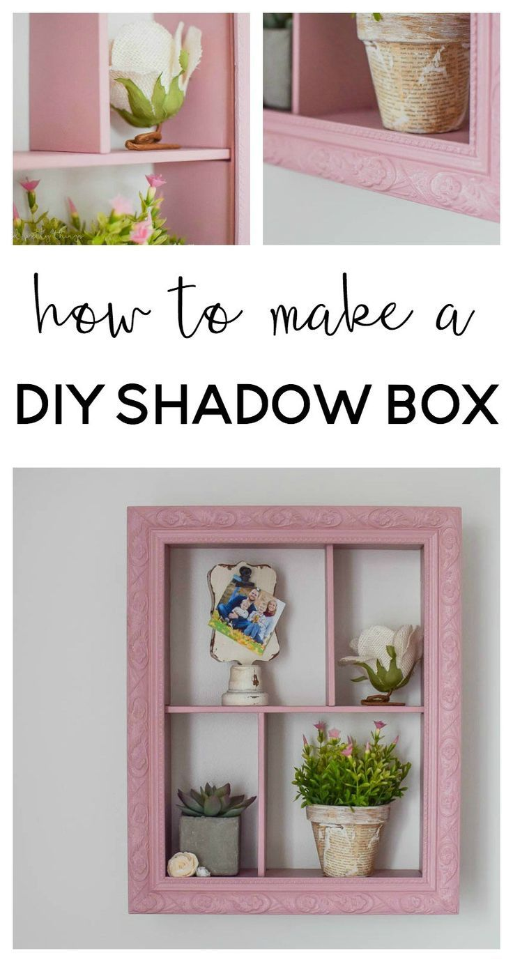 How to Make a DIY Shadow Box - | Pinterest