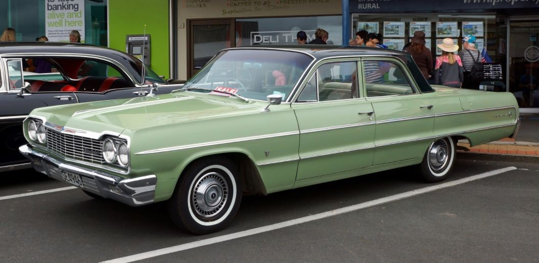 64 Impala 4 Door One Of My First Cars My Dads Was Tan